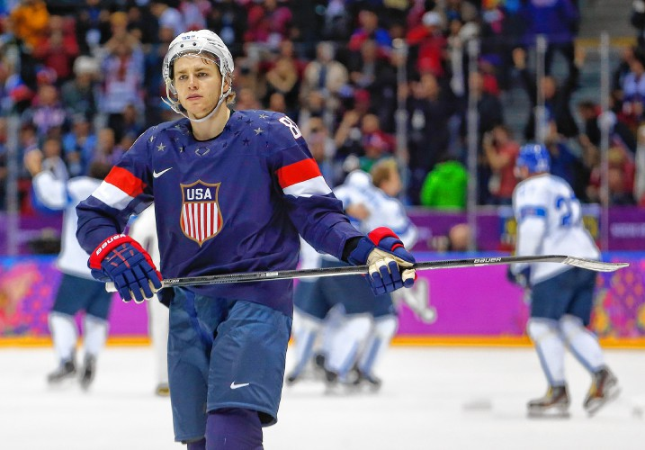 e2e8ef025 Patrick Kane represented his country in the 2014 Sochi Games. He will be an  alternate captain at the World Cup of Hockey. AP file