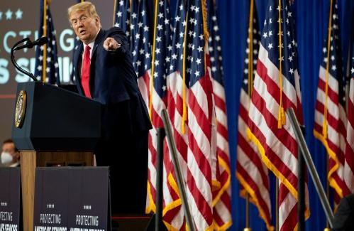 Growing number of Republicans speakingout against Trump