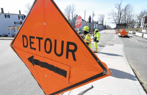 Spring road work begins in Concord (even if it still feels like winter)