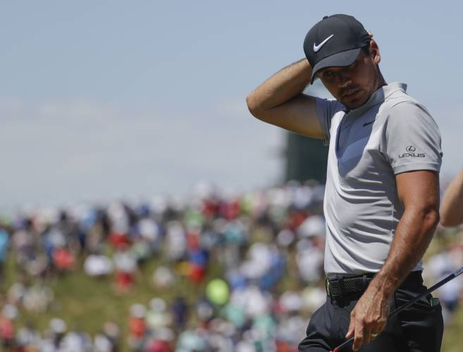 Hlas: Zach Johnson frustrated, but plays on in US Open