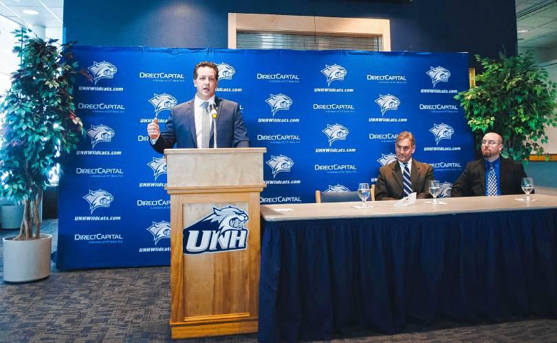 Hockey East: New Era - Mike Souza Begins Tenure As Head Coach Of UNH