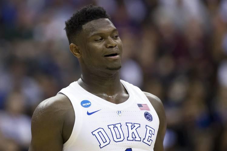 fe77fb0af970 Zion Williamson entering NBA draft after 1 year at Duke