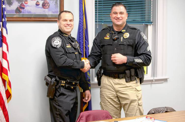 Pittsfield officer recognized for saving life in March fire