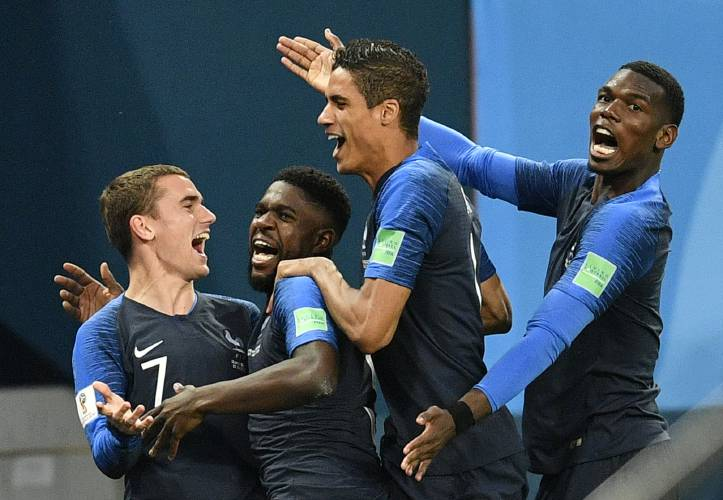eb50b7ec7 Mbappe, France to face Modric, Croatia for World Cup title