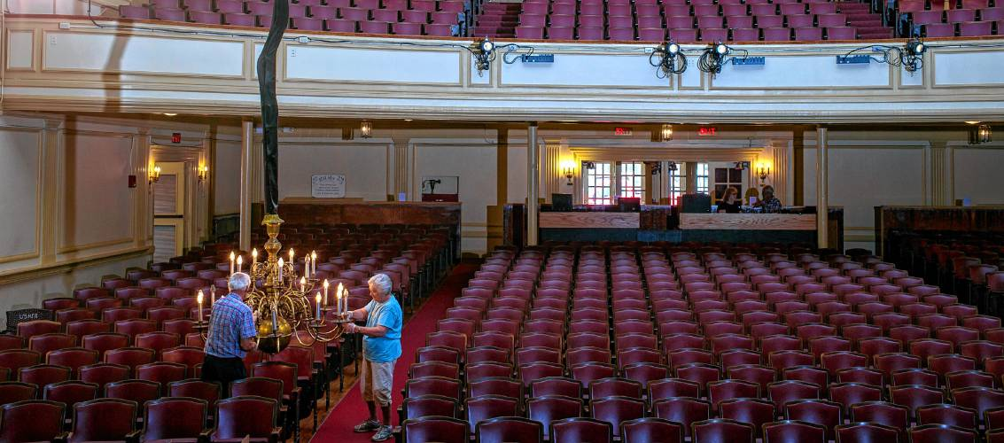 Volunteers Nudged Opponents Aside To Keep Concords Arts Alive - Audi concord nh