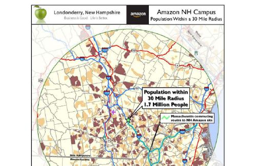 N H Officials Pitch Londonderry Mixed Use Site For Amazon Headquarters