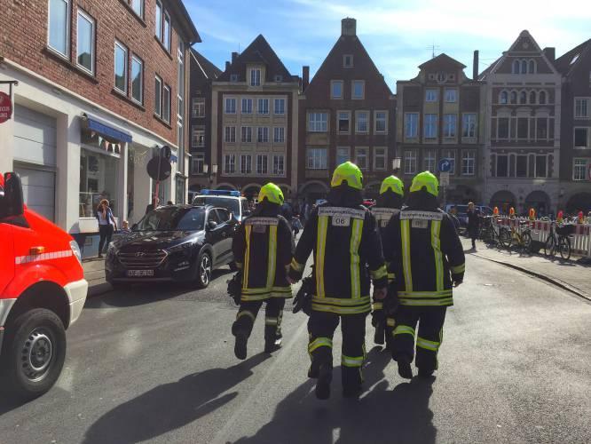 Germany seeks motive after van crashes into crowd, killing 2