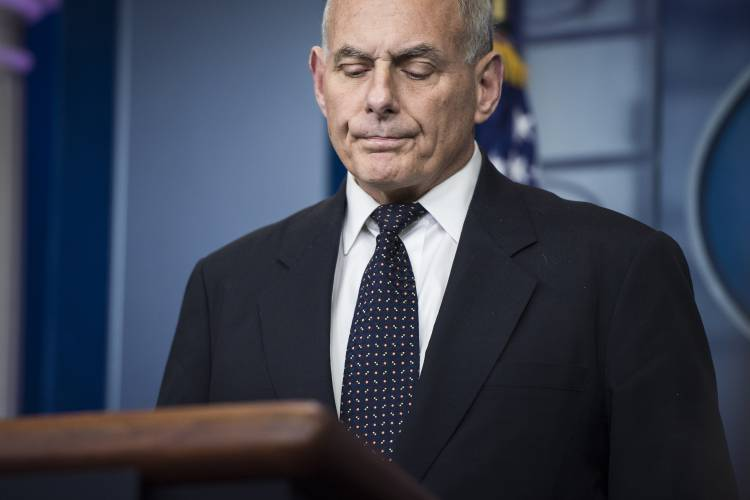 Kelly, whose son died in combat, defends president's call to Gold Star widow