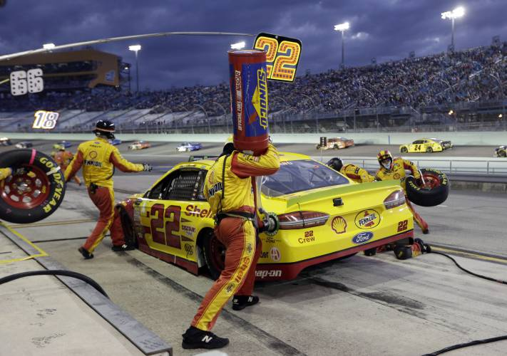 New England native Logano was tested before becoming a