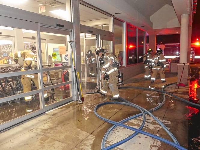 Concord Mirror: Fan causes fire at Concord Petco (image)