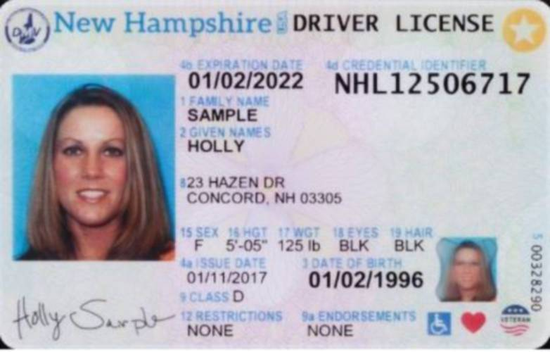Now Licenses Driver's Sign Changing Gender On Off Psychologists Can Nh