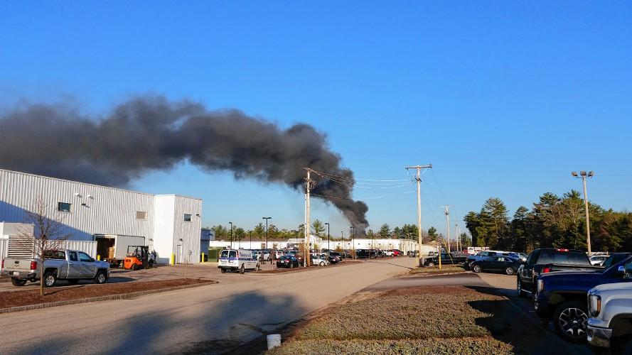 Massive fire destroys Concord tire business