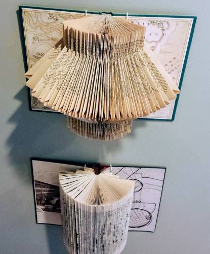 A New Use For An Old Book Fold It Into Art