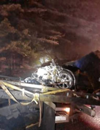 Police: Man skids off I-89, rips apart guardrail