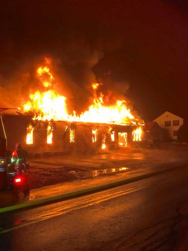 Murray Farm Greenhouse owner keeps a cool head after fire