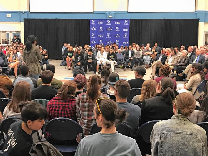 Tensions erupt during race forum at the University of New