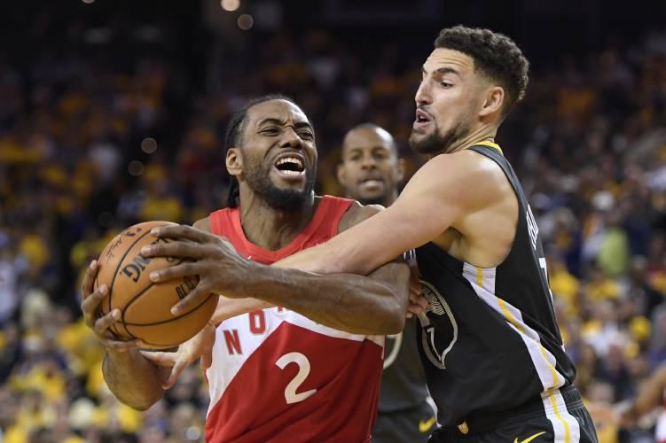 59c4f67960c With Leonard leading way, Raptors on cusp of 1st NBA title