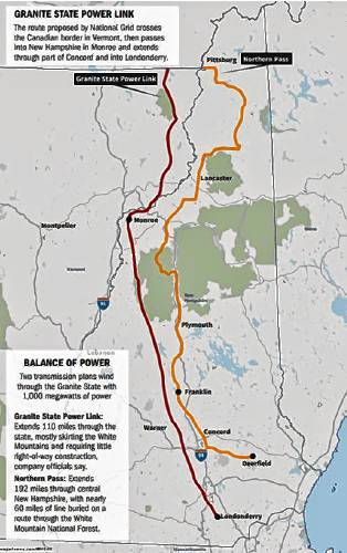 Public meetings start for Granite State Power Link, a Northern Pass ...