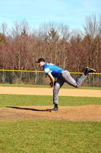 Project to prospect: Kearsarge's Mattos, a 6-foot-10 lefty