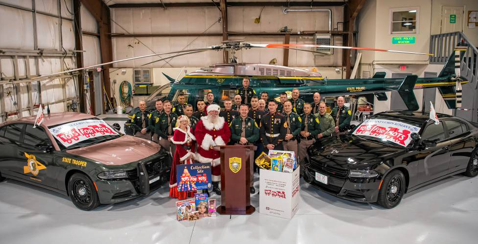 new hampshire state police join toys for tots campaign. Black Bedroom Furniture Sets. Home Design Ideas