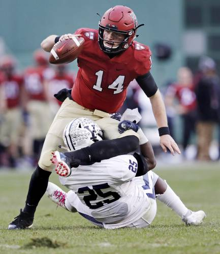 buy online 36deb 9ed0f Harvard beats Yale, 45-27, as 'The Game' sets scoring record ...