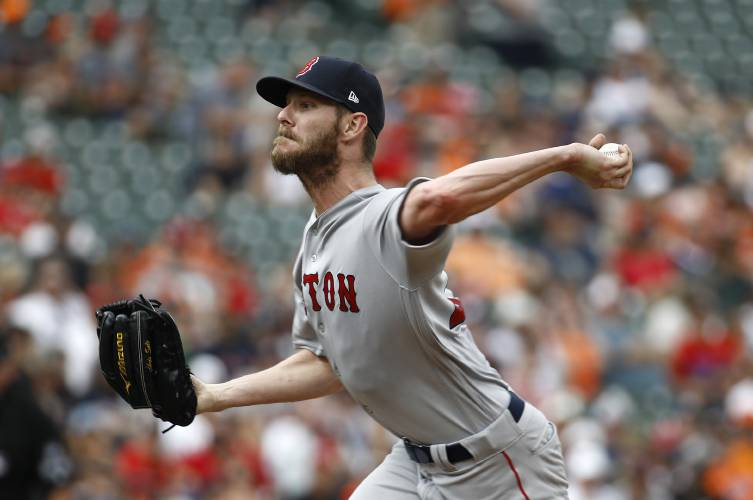 Red Sox ace Chris Sale goes back on 10-day disabled list
