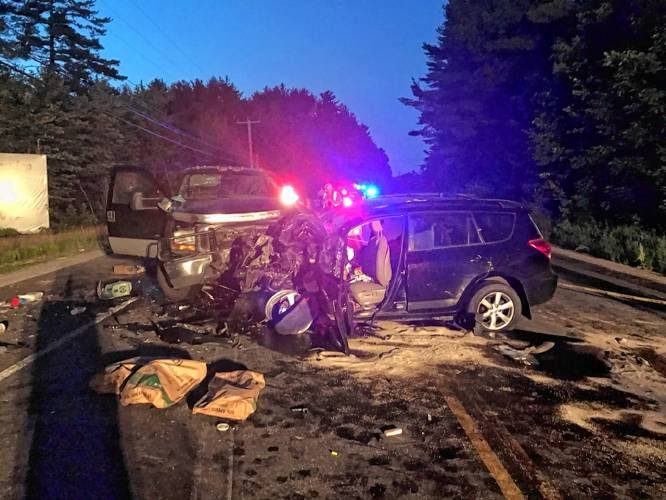 Two people, dog die after three-vehicle crash on Route 106 in Belmont