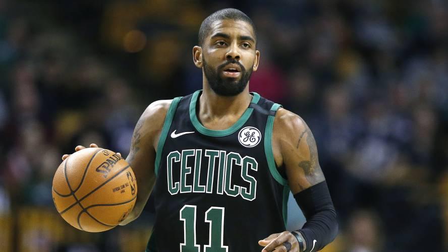 best cheap a5e63 6b1f0 LeBron reunites with Kyrie in NBA All-Star draft