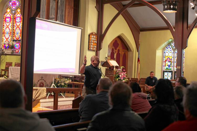 Active shooter drills come to Manchester church