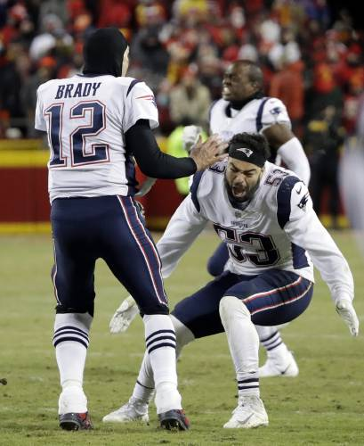 d378a3fb78d Brown  Van Noy proves to be punishing for Patriots