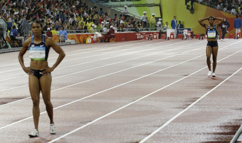 U S Track Team Faces Chemistry Question With Baton Pass