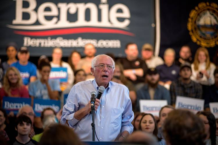 On the trail: Sanders defends price tag on new plan to wipe