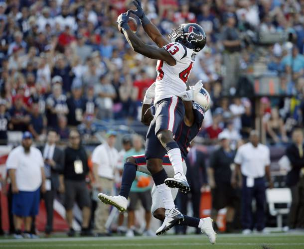 6ebae821 Brady to Cooks in final seconds lifts Patriots over Texans, 36-33