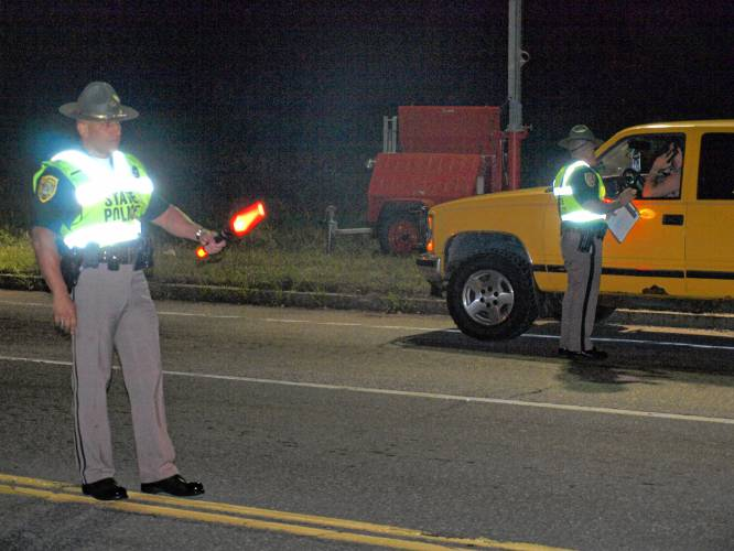 Are DWI checkpoints in N H  unconstitutional?