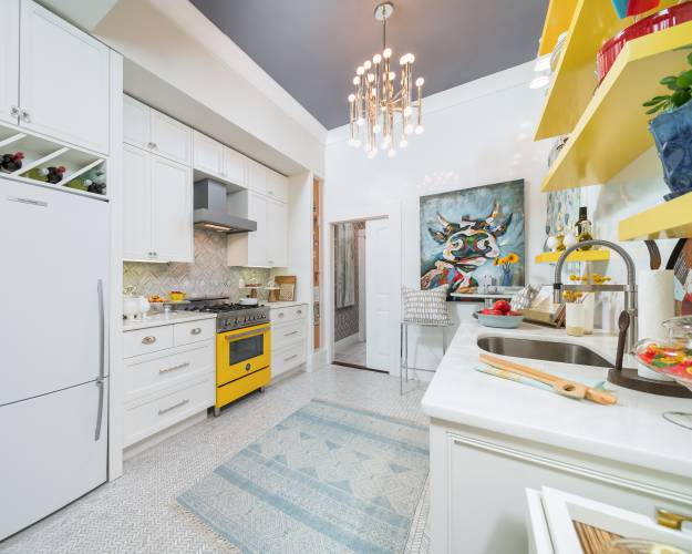 Sick of all-white kitchens? Here are six ways to spice things up