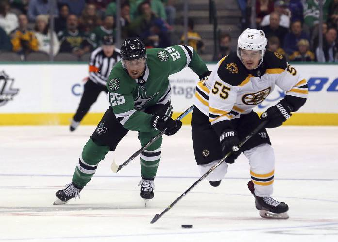 Dickinson scores in OT to lift Stars over Bruins, 1-0