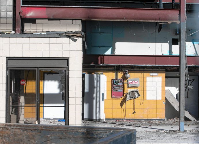 PHOTOS Demolition Day At Former Loudon Road Theater