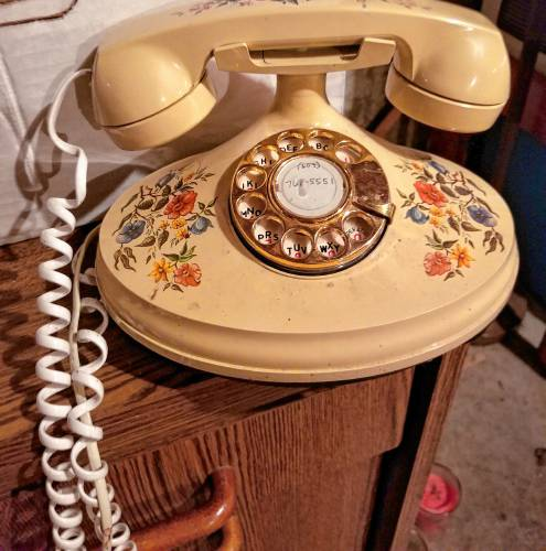 Dial 'N' for Nostalgia, and Never giving up my rotary telephone