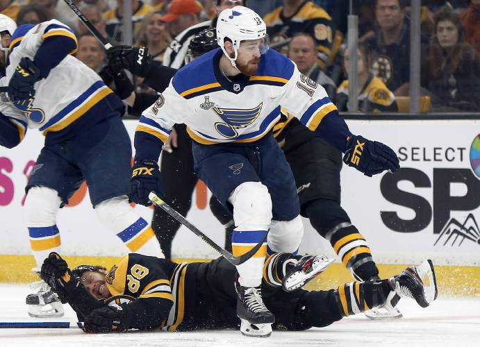 Limiting Boston S Power Play Has St Louis On Verge Of Cup