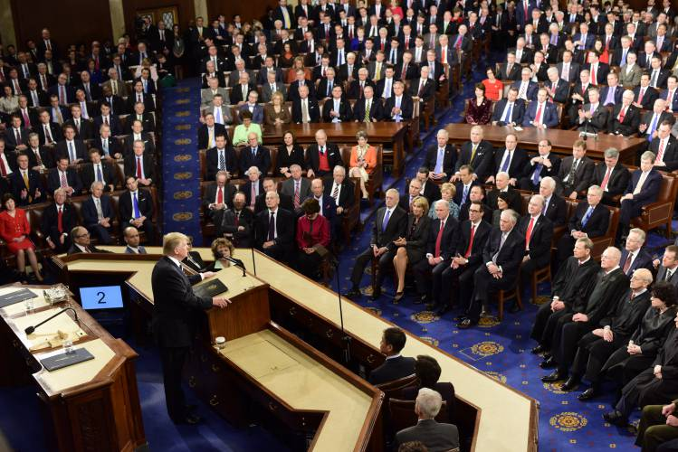Image result for trump speech in congress