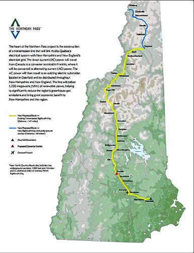 Map Of New England And Quebec.National Grid Proposes A Northern Pass Like Power Line From Quebec