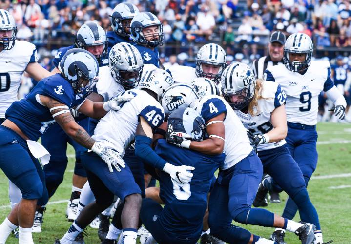 New Hampshire Football Looking To Get Back On Track Against Rhode Island