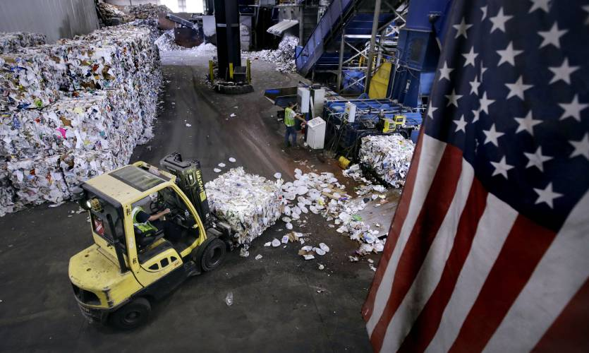 Once easily saved, America's recycling industry now in the dumps