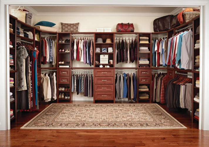 closet maid shelving ideas - How to convert a spare room into a dream closet