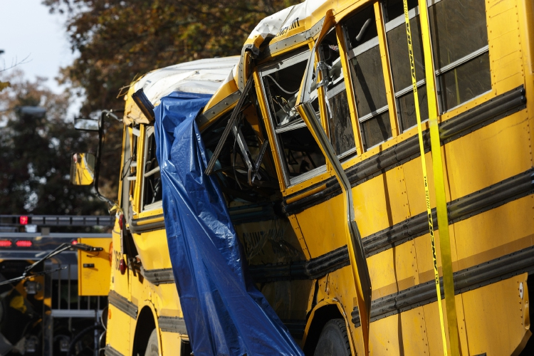 School bus driver arrested as Chattanooga mourns 5 children
