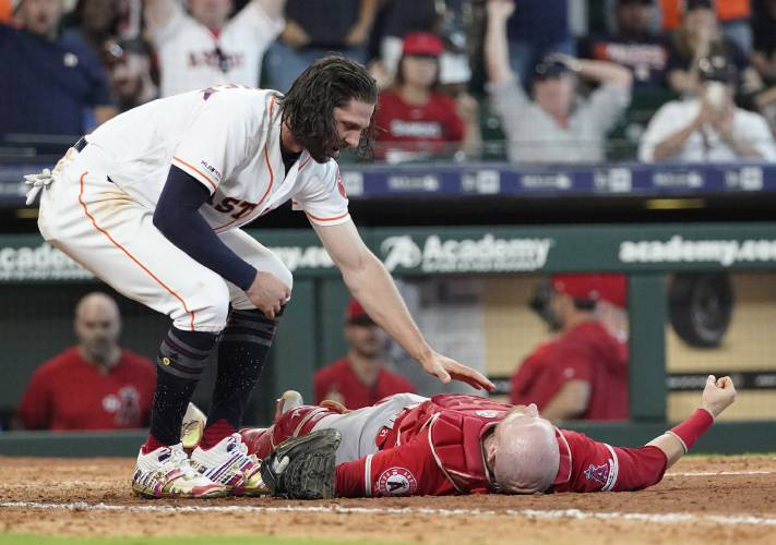 Houston S Marisnick Suspended For Plate Collision With Lucroy