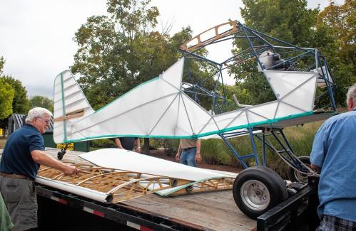 Photos N H Aviation Museum Returns Kitfox Airplane To