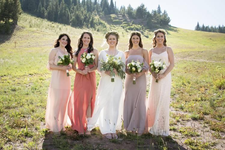 00ef1f1185334 Goodbye matching bridesmaids' dresses