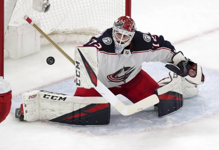 f39bef03c NHL Faceoff  Healthy Karlsson gives Sharks optimism  Bruins hope to solve  Bobrovsky