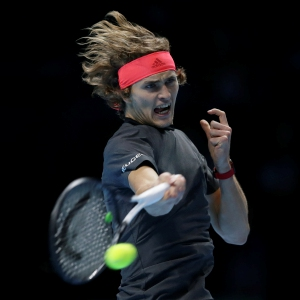 cf2a1f67 Zverev's ATP Finals win over Federer tainted by ball boy flub